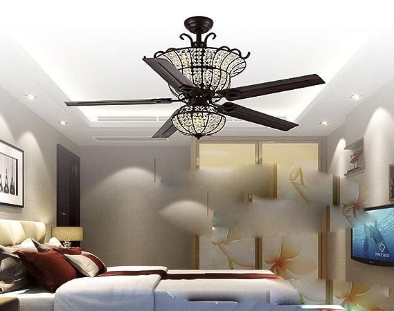 La hoja lámpara ventilador comedor dormitorio lujoso ...