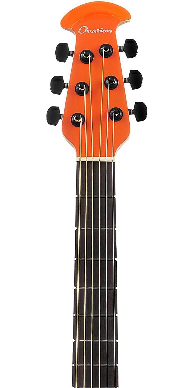 Ovation S de guitarra acústica Elite T Super Shallow Gloss Naranja 1868tx de Go: Amazon.es: Instrumentos musicales