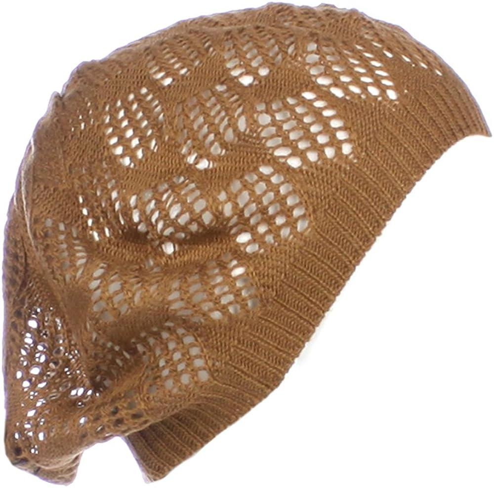 An Knit Beanie Beret Hat...