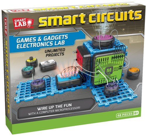 Smartlab Toys Smart Circuits Games   Gadgets Electronics Lab
