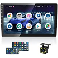 2021 New 10 Inch Android Car Radio Double Din Car Stereo System Touchscreen Head Unit with Bluetooth+FM +GPS+WiFi Mirror…