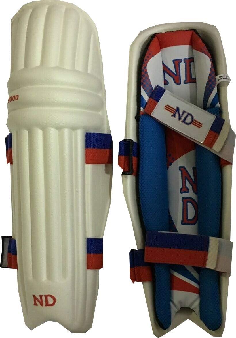 ND Cricket Batting Leg Guards Tendulkar Style Batsman Pads Boy Youth Men 2019 UK