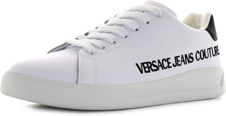 Versace Jeans Couture Uomo Bianco Otico E0yzbsh171779003 - Zapatillas deportivas