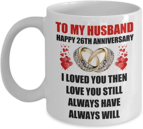 Amazon Com 26 Year 26th Wedding Anniversary Marriage Gift For Him