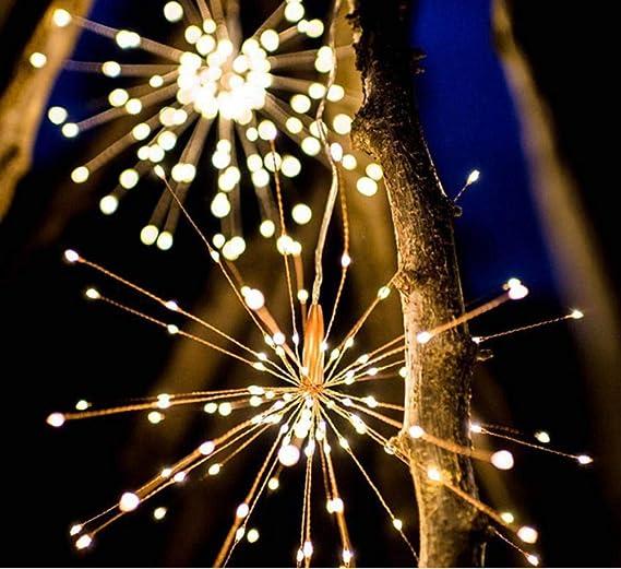 Led Cadena Luces Solares Jardín Casero Anochecer Sensor Automático Recargable Tira de Luz Exterior Impermeable Patio Césped Camino Decorativa Navidad Boda Decoración Luz nocturna: Amazon.es: Iluminación