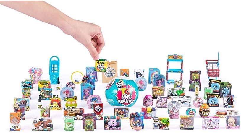 shopkins durable Toy mini brand fashionable Random Keychain; Suprise Toy Mini brand