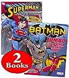 Bendon Publishing DC Comics Batman & Superman Coloring and Activity Book Set (Two 96 -Page Books)