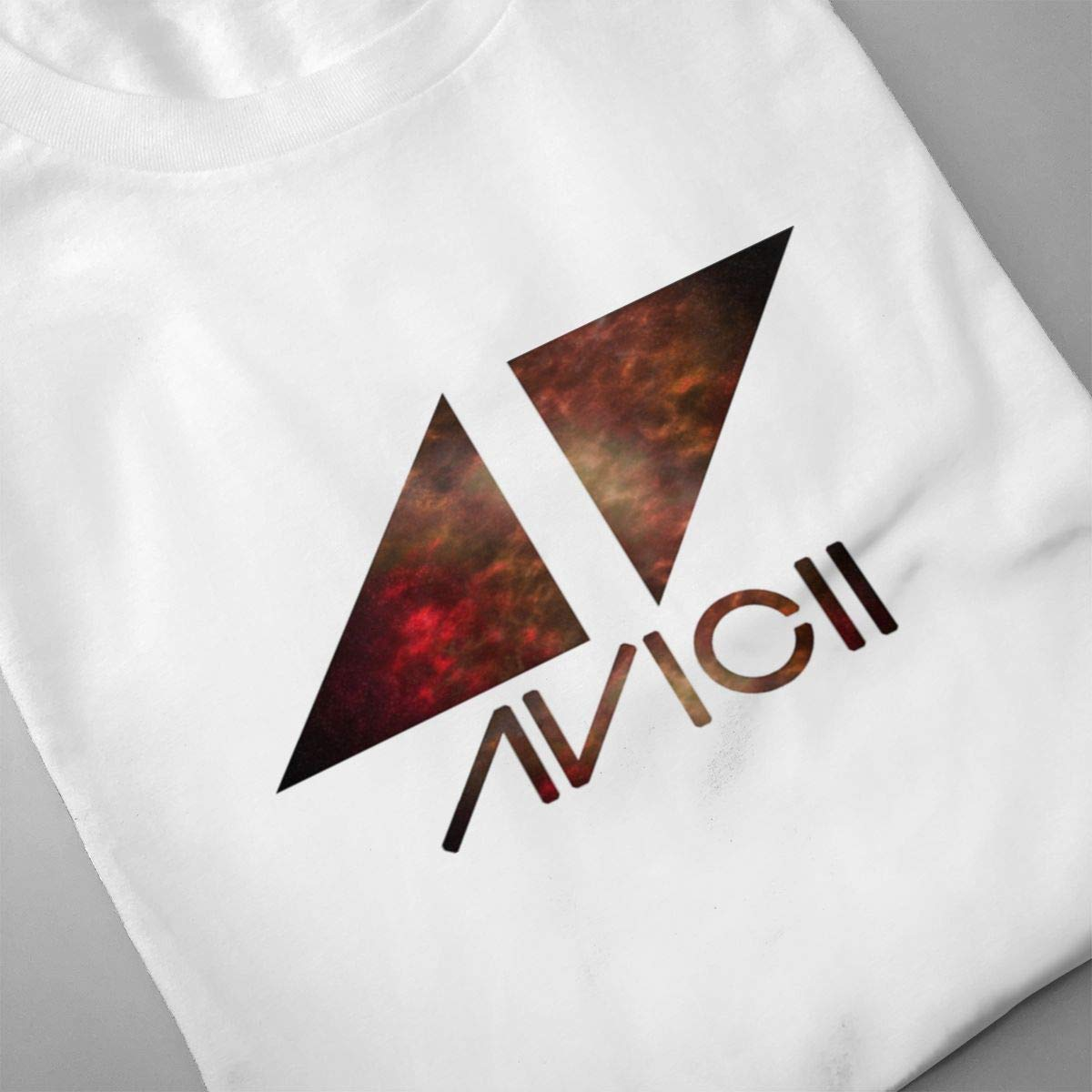 Xuforget Mens Avicii Popular Short Sleeve Tee Shirt Cotton Tops