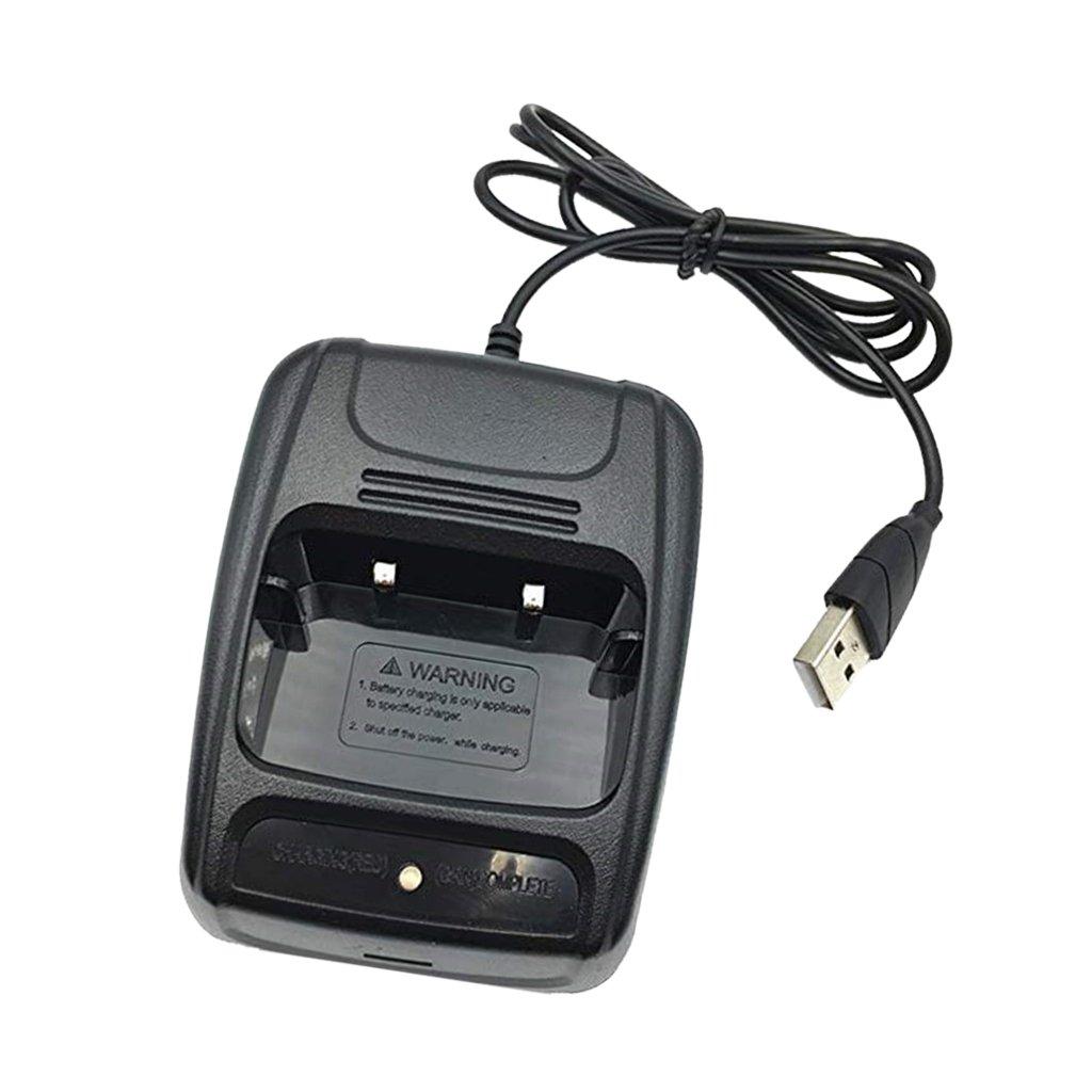 MagiDeal USB Cargador Radio de Walkie Talkie para BaoFeng BF ...