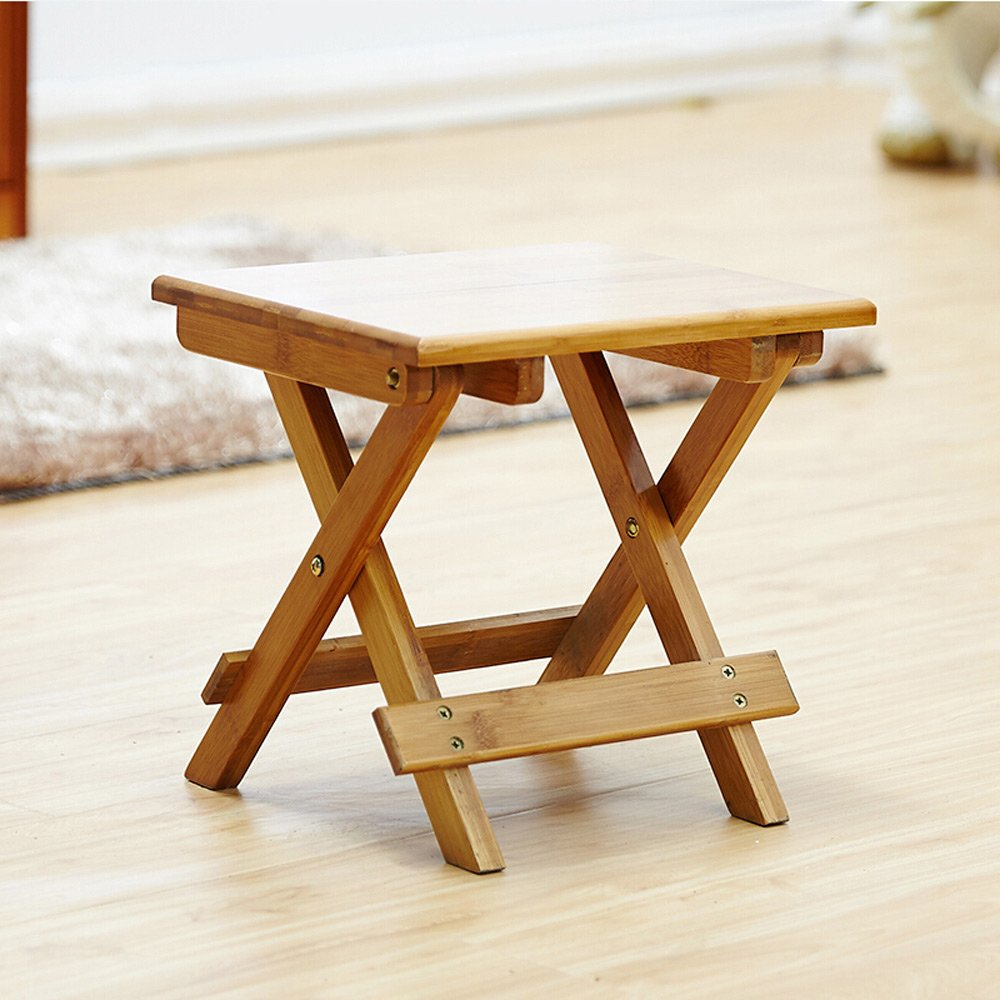 PM-Folding Stools Folding Stool, Stool, Folding Chair, Bench, Mazar, Stool, Changing Shoe Stool, Fishing Stool, Balcony Solid Wood Bamboo Convenient And Convenient Sand Stool