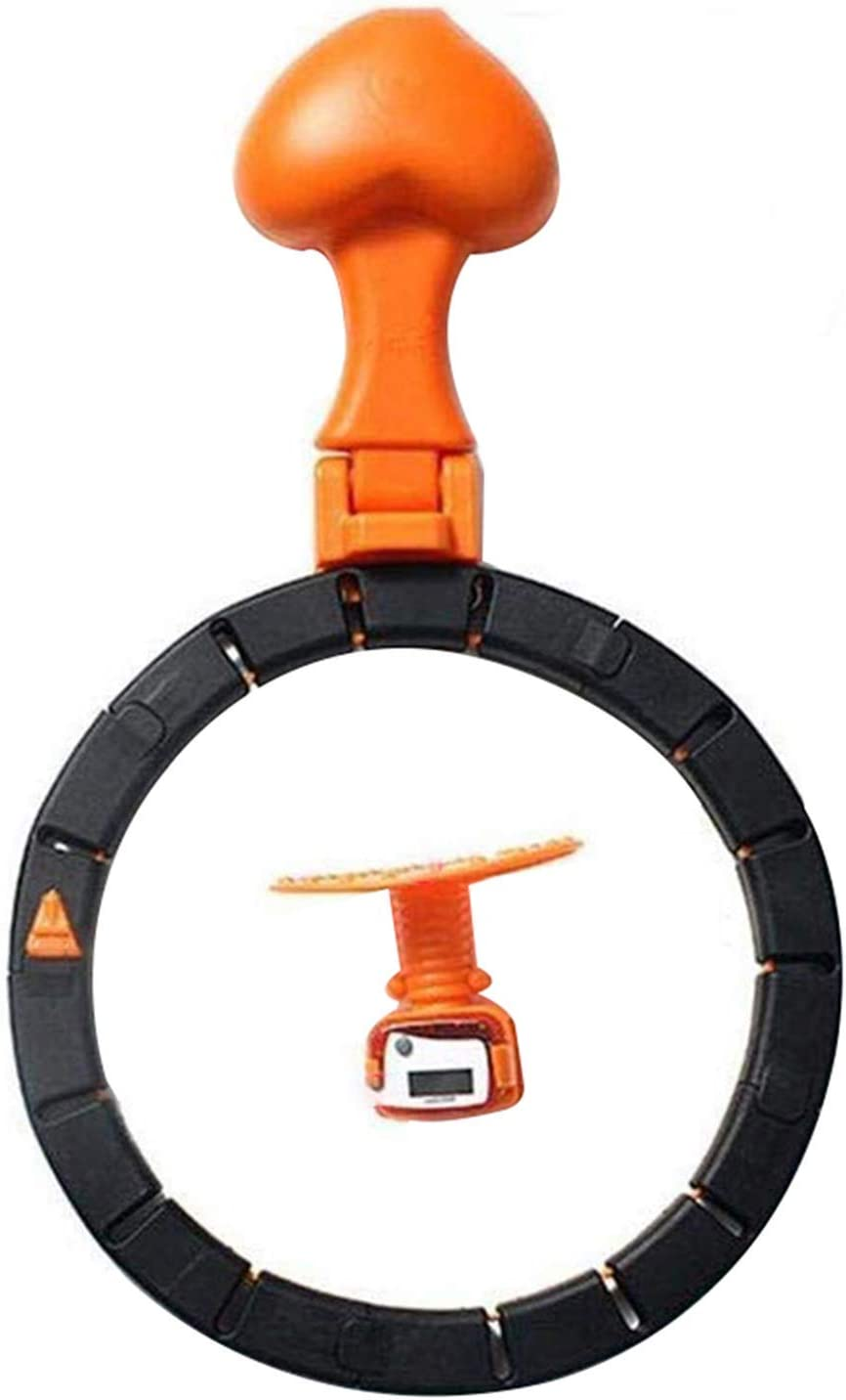 Exercise Hula Loop Hoop Detachable Portable Circle Smart Lose Weight Fitness NEU
