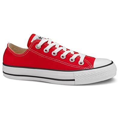 80ba631f17ba Image Unavailable. Image not available for. Color  Converse Men s Chuck  Taylor All Star Ox Red Canvas ...
