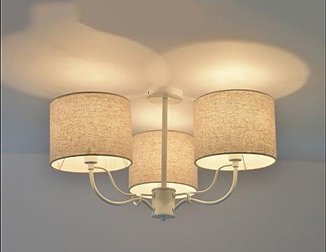 Mkkm lampadari nordici pastorali moderno camera da letto