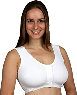product image for Gentle Touch Post-Surgical Surg-Ease Bra #471-V 5XLarge (50+), Hook & Loop, White