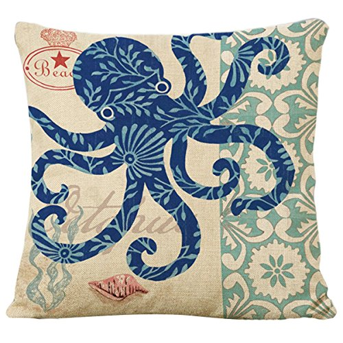 Famibay-Decorative-Pillow-Cover-Ocean-Park-Theme-Square-Cotton-Linen-Throw-Pillow-Case-Cushion-Cover-18-x-18