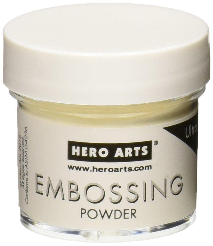 Hero Arts PW111 Embossing Powder, Ultra Fine, 1-Ounce