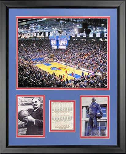 (Legends Never Die Kansas Jayhawks - Allen Fieldhouse Framed Photo Collage, 16