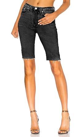 black high waisted shorts h