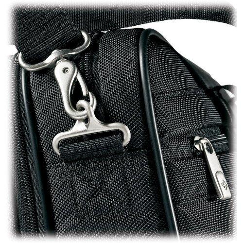 Samsonite Classic Business Perfect Fit 15.6 Two Gusset Laptop Bag in Black