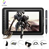"Xp-Pen Artist10S 10.1"" Ips Graphics Drawing Monitor Pen Tablet Pen Display With Clean Kit And Drawing Glove (Black)"