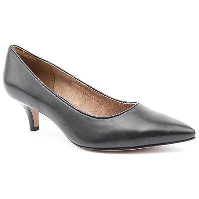 74f0352b5d3 Clarks Ladies Sage Cooper Black Low Heel Shoes Size 8  Amazon.co.uk ...
