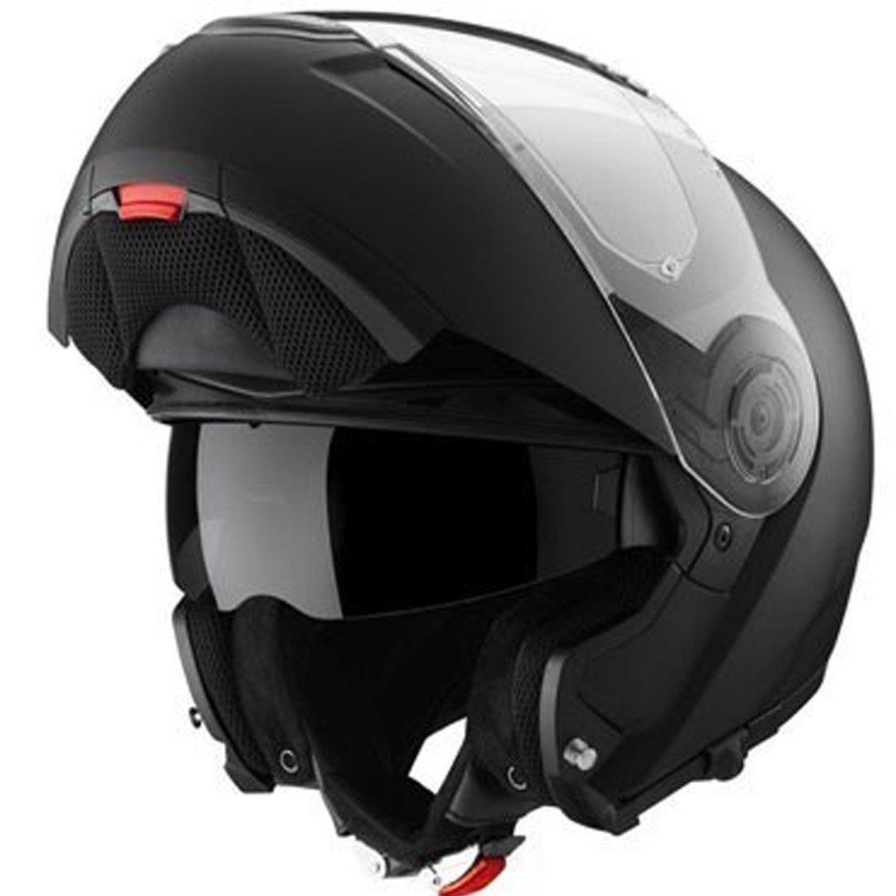 Schuberth C3/casque de moto Syst/ème de Rabat avant de base Noir