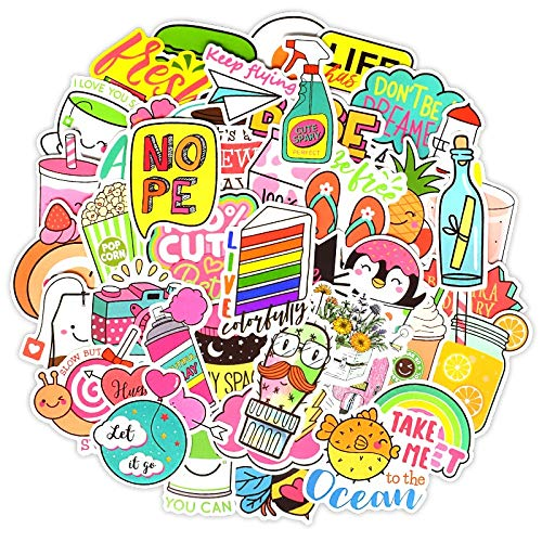 XZZ Cute Graffiti Sticker 50Pcs For Car-Shaped Bicycle Motorcycle Mobile Phone Laptop Travel Luggage