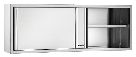 Pared del armario con puertas correderas, 1400x400x660 - Bartscher ...