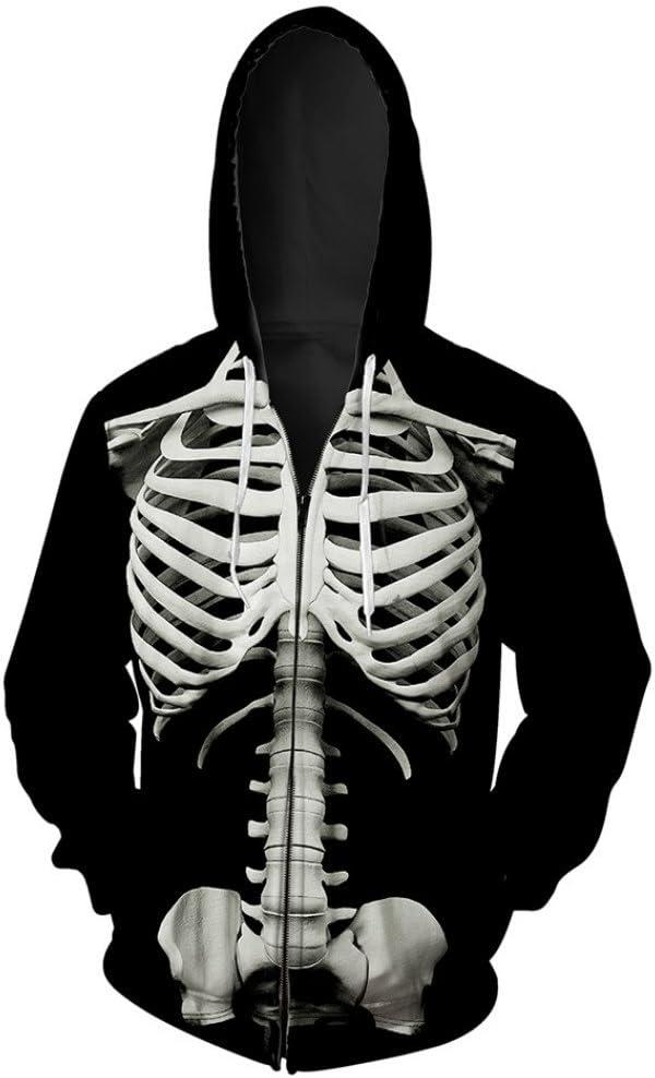 Amazon.com: Sudadera con capucha y cremallera para hombre ...