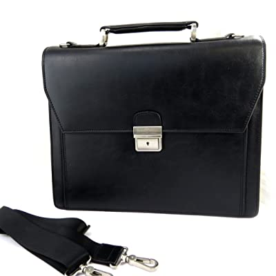1 briefcase bellows 'David William'black.