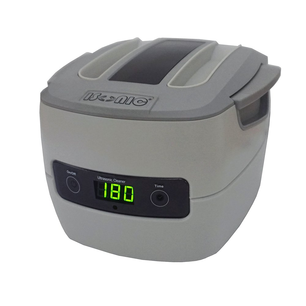iSonic P4801 Commercial Ultrasonic Cleaner, Plastic Basket, 110V, 1.5 Quart/1.4 L, Beige (NOT for CPAP, Choose P4821-CPAP, P4831-CPAP, P4862-CPAP Instead)