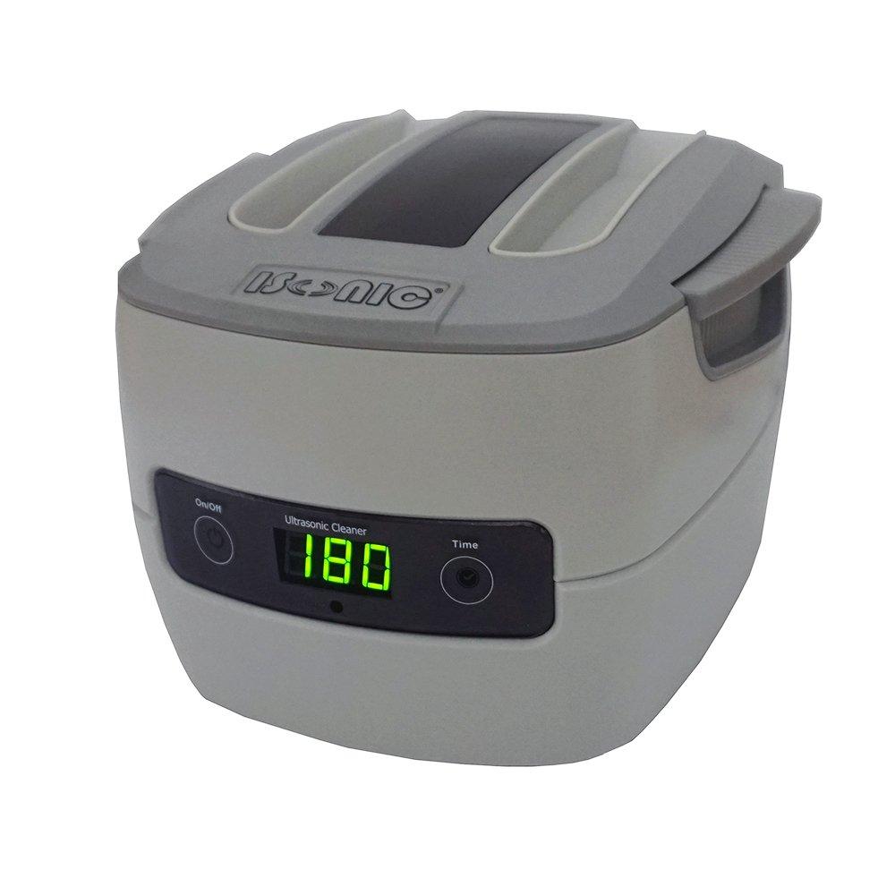 iSonic P4801 Commercial Ultrasonic Cleaner, Plastic Basket, 110V, 1.5 quart/1.4 L, Beige
