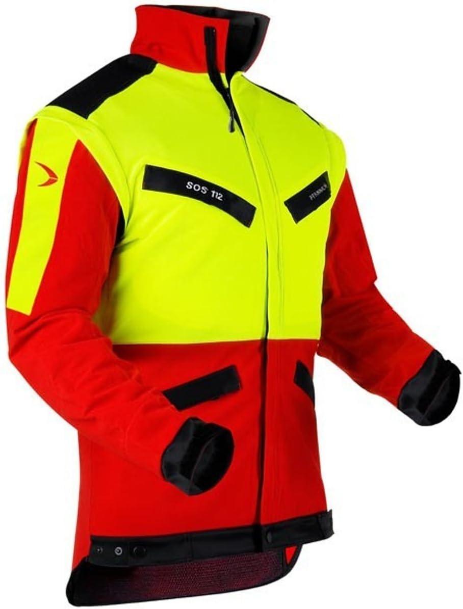 alle Größen Pfanner Forstjacke Arbeitsjacke Forstkleidung KlimaAIR Rot Gelb