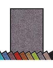 Floordirekt Vuilvangmat Rhine | wasbare en krachtige deurmat | schoonloopmat met antislip achterkant | deurmat in vele maten en kleuren