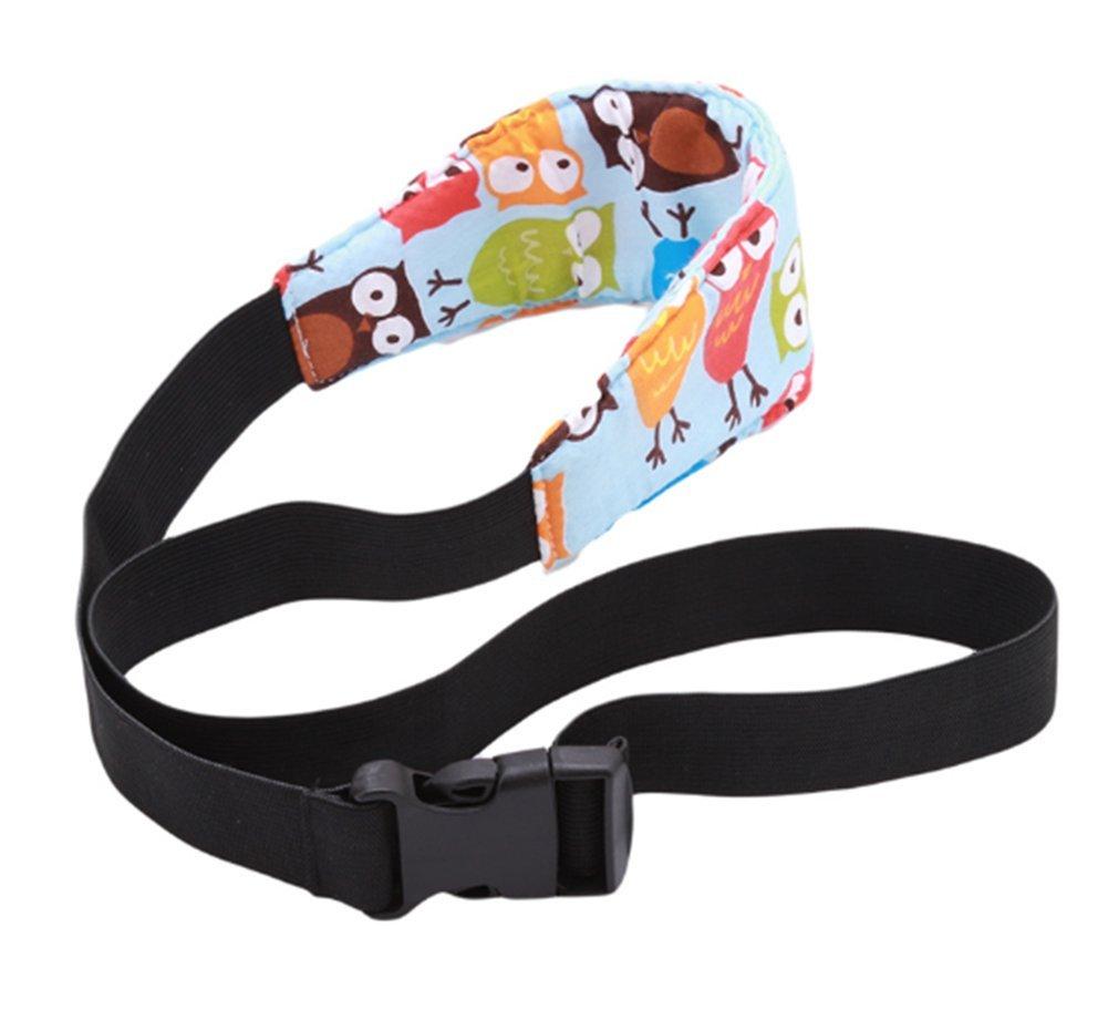 2 PCS Cintur/ón de Seguridad de Coche para Ni/ños y Beb/és Beb/és Soporte de la Cabeza Cintur/ón Ajustable de Seguridad Fijaci/ón Protecci/ón de Cabeza
