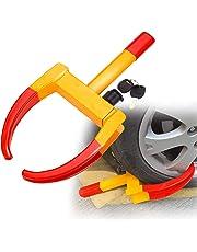 Sailnovo Antirrobo Remolque Cepo con inmovilizador electrónico para neumáticos, máximaanchura de neumático: 315 mm