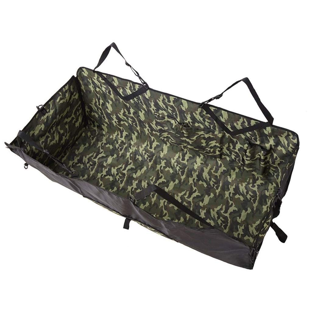 Camouflage color Car Seat Cover Mat Pet Dog Carrier Basket Car Seat Pad Pet Travel Universal Waterproof Hammock for Cars SUV (color   Camouflage color)