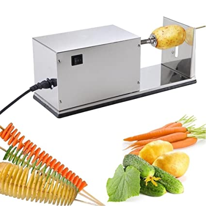 ecf191346aa Image Unavailable. Image not available for. Color  Electric potato spiral  cutter ...