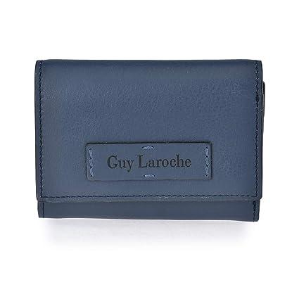 Monedero Pequeño Piel Mujer Guy Laroche 7143 (Azul): Amazon ...