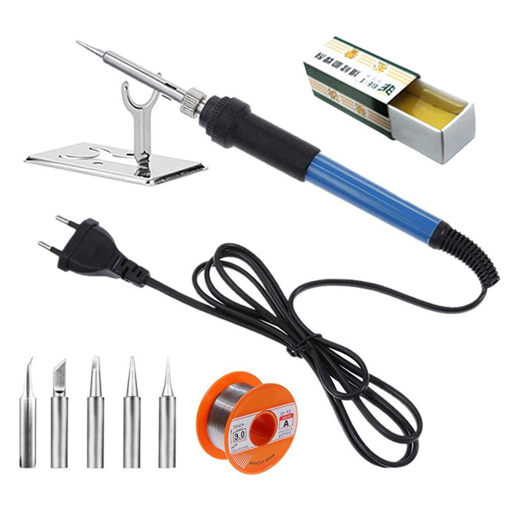 YZPOWER 60W 220V Kit de soudure pour fer à souder électrique Fil à souder