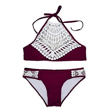 infashionport Damen Bikini-Set Small Gr. S, rot
