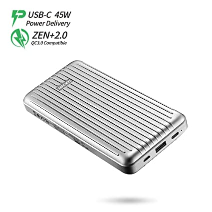 9d450c660370fa Zendure ZDA6PD-s 45W Power Delivery Portable Charger A6PD 20100mAh  Ultra-Durable PD Power