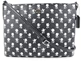 Coach the Americana iPad Crossbody in Black/White Canvas, Style 35453