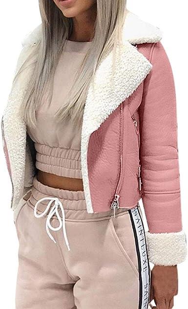 Women Natural Lambskin Leather Off Shoulder  Crop Moto Jacket