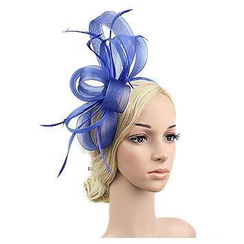 Amazon Com Bridal Feather Fashion Hair Accessories Prom Photo