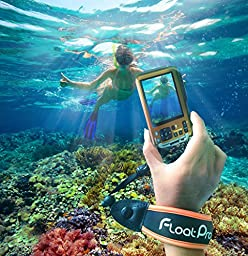 FloatPro Floating Wrist Strap For GoPro & Waterproof Camera (Orange). #1 Must-Have Float Accessories. 1-Year Warranty.