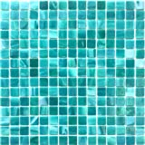 Hometile Mosaic Glass Mosaic Tile/backsplash Tile for Kitchen/Sticker Tile/Bathroom Tile/Kitchen Tiles for Wall,Mosaic Tiles (10sheet, Blue)