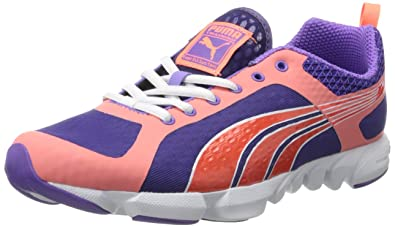 PUMA Women's Formlite XT Ultra Cross-Training Shoe,Heliotrope/Fluorescent  Peach,6