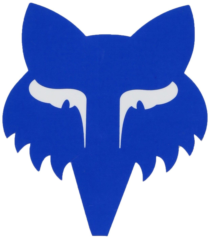 Fox Men's Legacy Head-3.5'' Sticker, Blue One Size