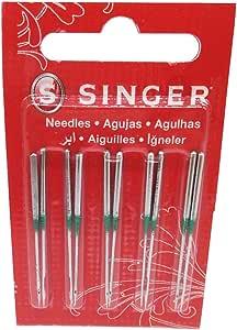 HONEYSEW 2054-42 70/10 75/11 Agujas Singer para Singer 14U Serger ...
